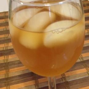 Easy Iced Tea with Lemon SimpleSyrup