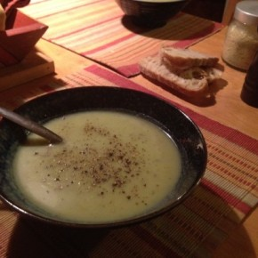 Vegan Potato Leek Soup – A Great Soup From Our Guest Bloggers At The Halau