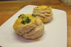 Cheddar and Green OnionBiscuits