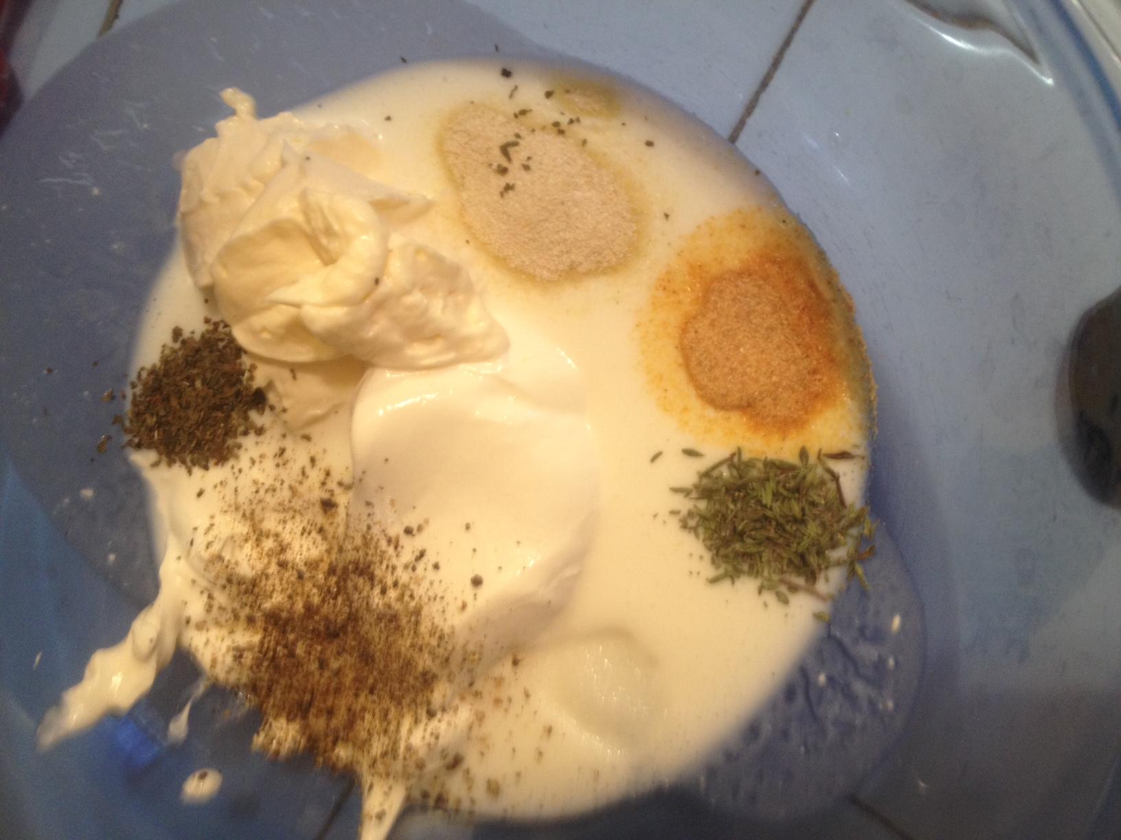 Buttermilk Ranch Dipping Sauce Recipe — Dishmaps