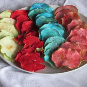 Jolly Rancher Candy Apple Chips