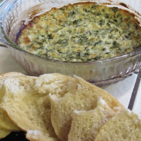 Basil and Spinach Dip