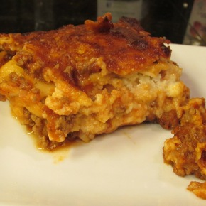 Changin' It Up – Bison Lasagna
