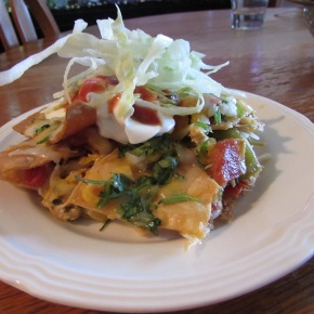 Chicken Tortilla Soup Leftovers – Part 1 – Chicken Nachos