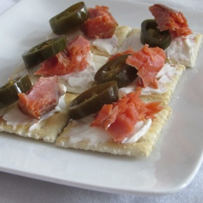 Smoked Salmon and Jalapeno Appetizer