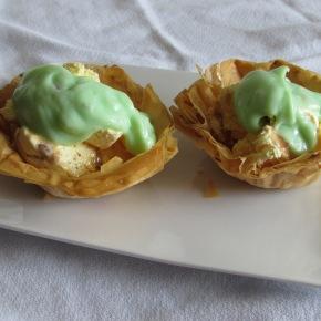 Coconut Phyllo DessertCups