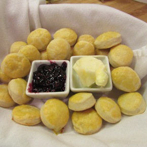 Trish's Mini Biscuits