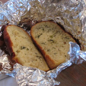 Garlic Bread On The BBQ