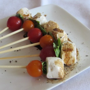 Fast Food Friday – Caprese Salad On A Stick