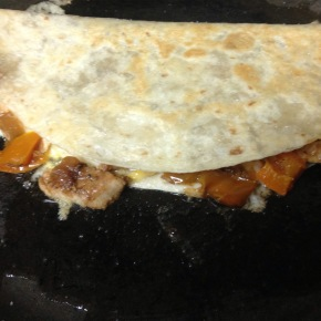 Fast Food Friday: Fajita Quesadilla