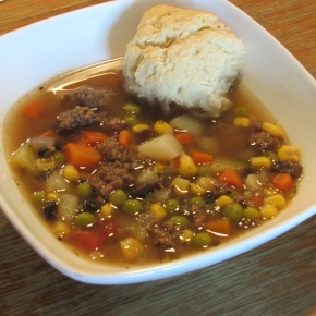 Souper Sunday!  Ground Buffalo Stew – aka Hamburger Stew