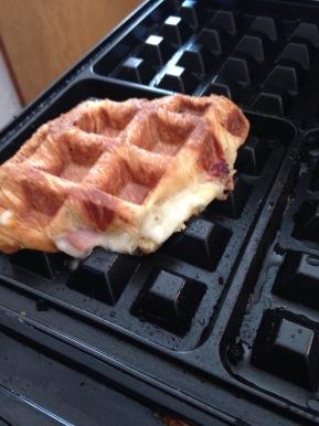 Waffle Bowl 2016: Ham and Havarti onCroissant