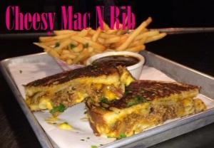 cheesy mac n rib