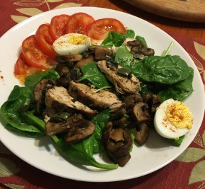 Guilt Free SpinachSalad