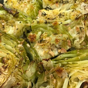So You Say You Hate Cabbage #1 – Vanishing Oven Roasted Lemon Garlic Herb Cabbage
