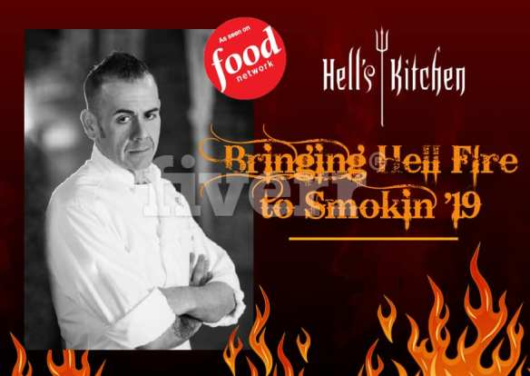 Chef Robert Hesse Bringing Hell Fire To Smokin 19 Cook