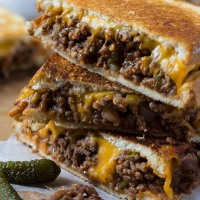 loose meat melt