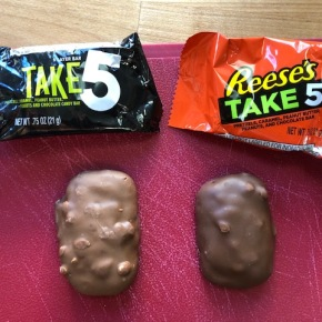 The New Reese's Take 5 vs. Old Hershey's Take 5