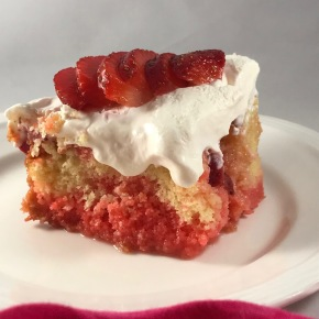 Strawberry Lemon Shortcake Poke Cake and the Supermarket Ponzi Scheme