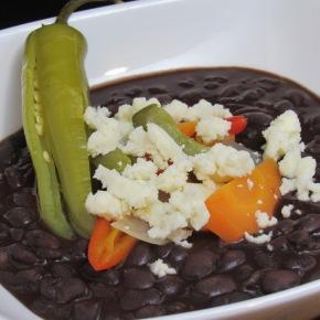 Guatamalan-style Black Beans